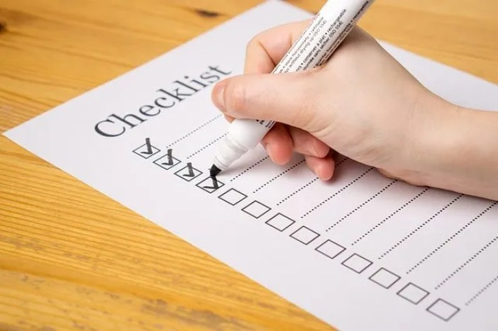checklist-matrimony