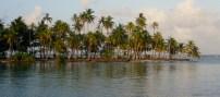 one of the uninhabited islands at San Blas