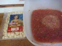 gnocchi with raw tomato sauce