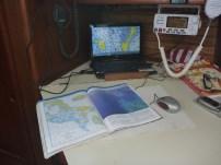 the navigation instruments