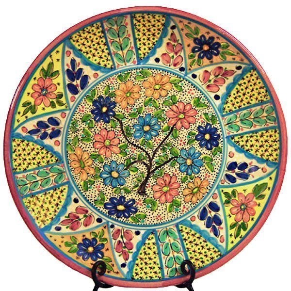 Mosaic Ceramic Plate from Spain
