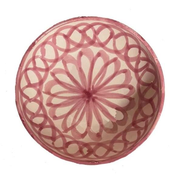 Granada Pink Bowl