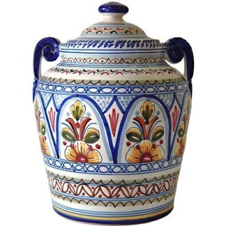 Ceramic Cookie Jar from Spain