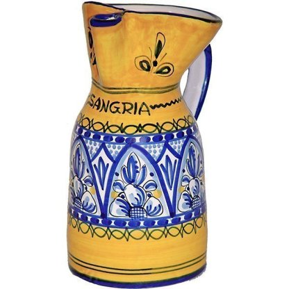 Fiesta Yellow Sangria Pitcher from Spain