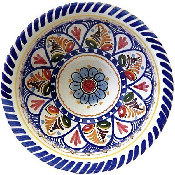 Spanish ceramic cereal bowl