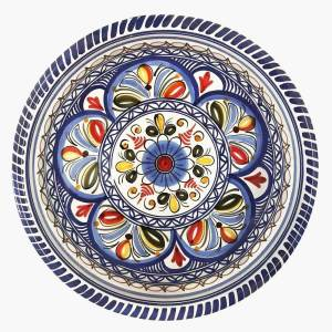 Multicolor Large Bowl