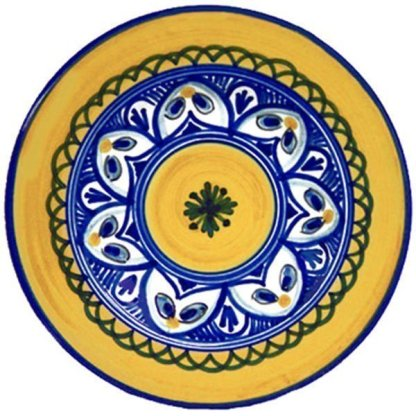 Hand painted Spain Tapa Plate