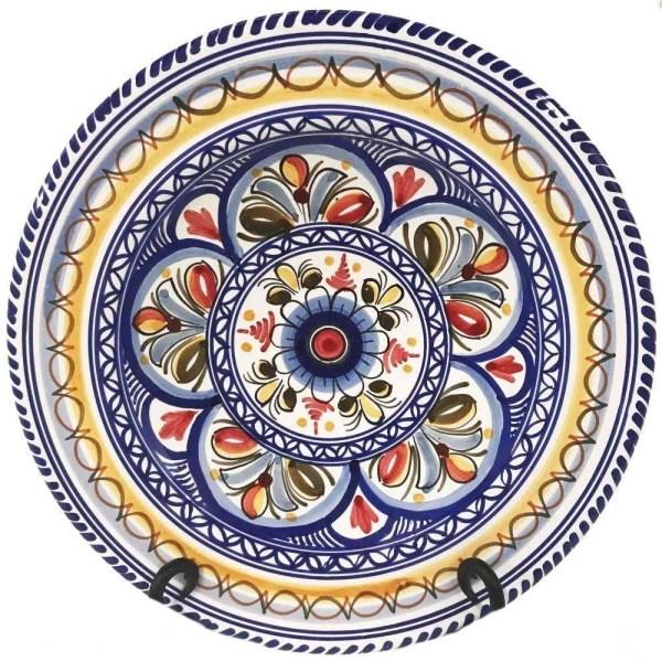 Multicolor Dinner Plate