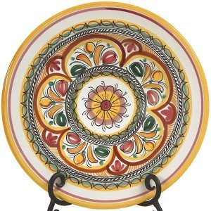 Seville Pattern Spanish Ceramic Plate