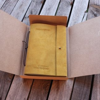 Personalized Agenda Notebook from Spain