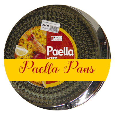 Paella Pans from Spain