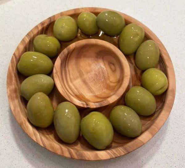 Olive Wood Olive Tray