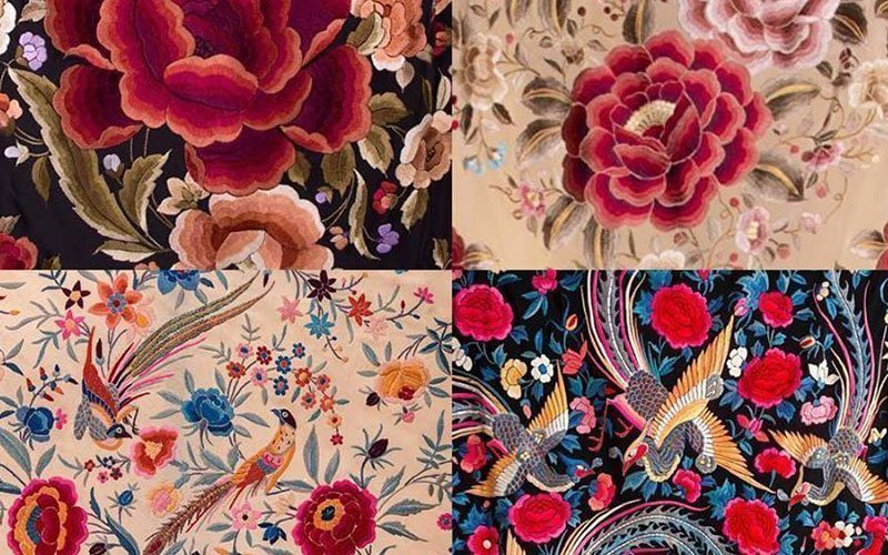 Spanish Silk Mantones