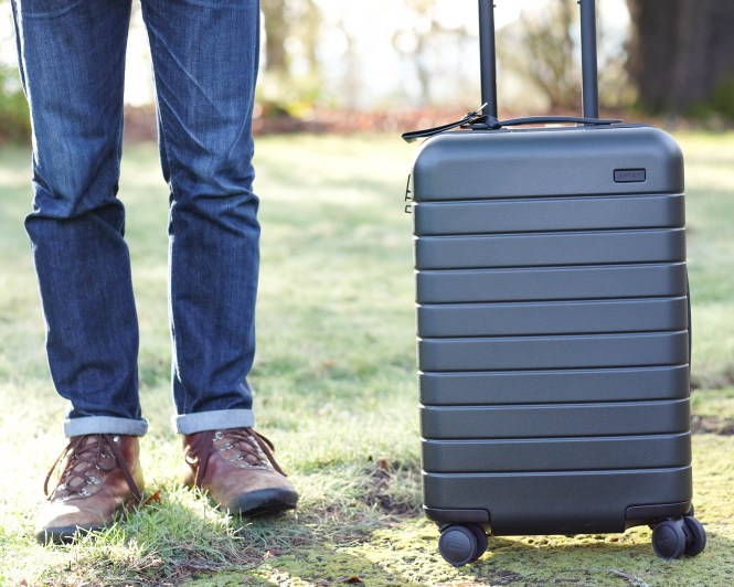 away travel carryon review MUJI