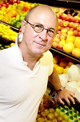 Robert Kenner, director of Food Inc. at Wheatsville Co-op on June 1, 2009