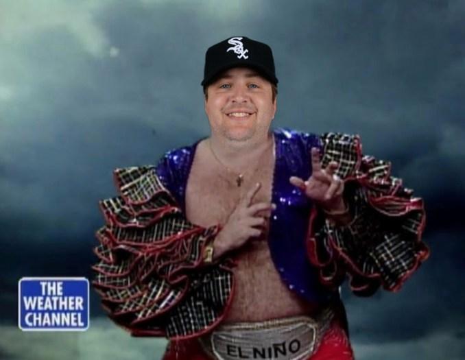 "Matt Albers White Sox ""El Niño"""