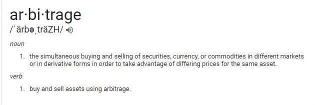 Arbitrage 2