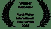 <h5>Best Actor North Wales International Film Festival</h5><p>Tom Bonington won Best Actor at the North Wales International Film Festival</p>