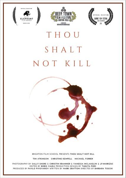 Poster logos - Thou Shall not Kill
