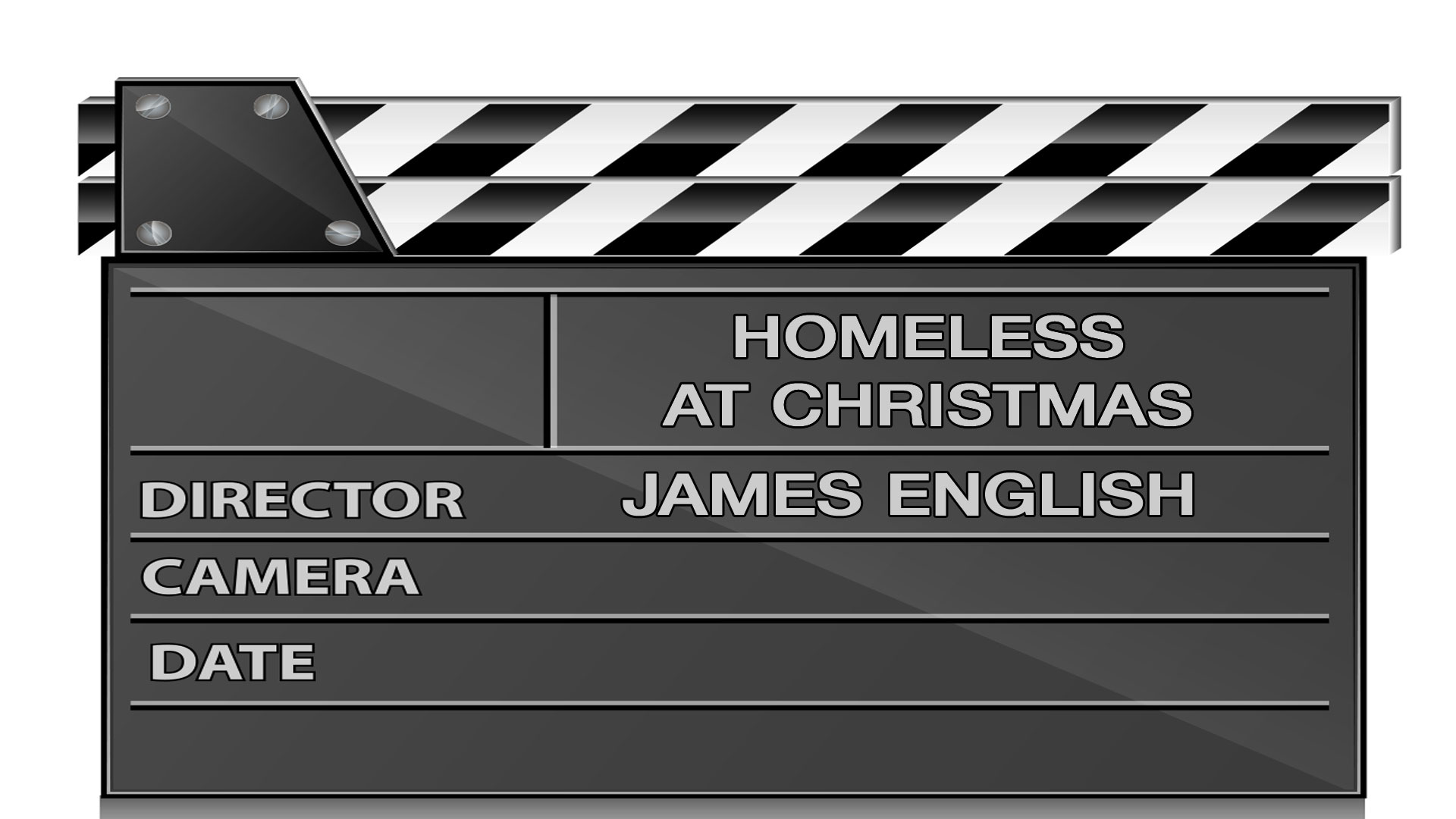Homeless at Christmas by James English