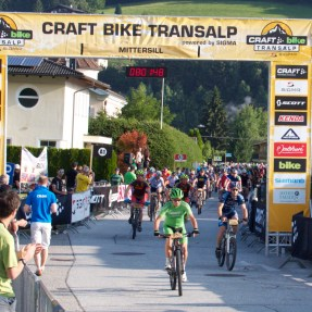 8 AM Mittersill, Austria, TransAlp 2015
