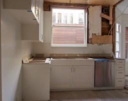 Kitchen Window & Sink Day Two