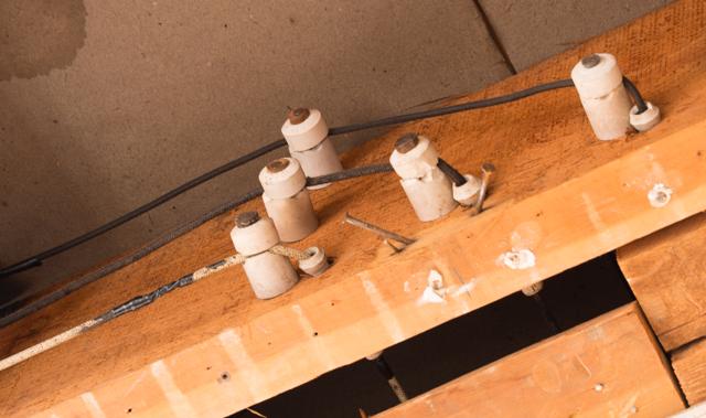 Knob & Tube Wire Insulation