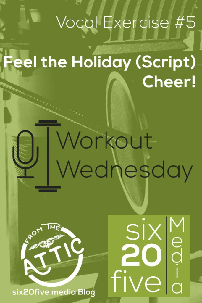 Feel the Holiday (Script) Cheer! - Workout Wednesday