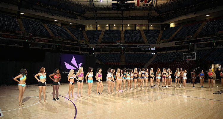 Sacramento Kings Dancers Auditions, Here I Come!