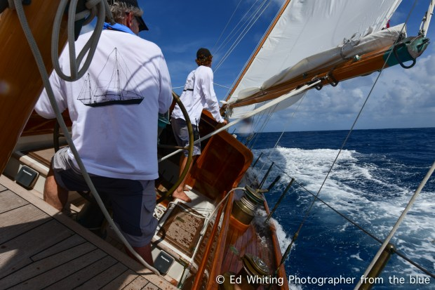 Single Handed Sailing Race Classic Style - Ed WhitingEd Whiting