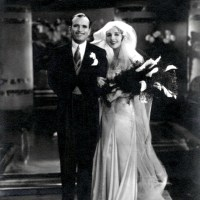 Mary Pickford and Douglas Fairbanks Wedding Photo (1918)