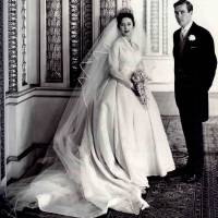 Princess Margaret & Anthony Armstrong-Jones Wedding Day (1960)