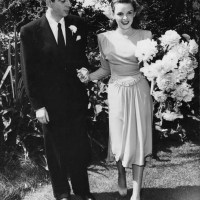 Judy Garland and Vincente Minnelli Wedding (1945)