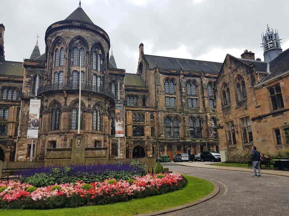 Glasgow University, #fromthecornertable