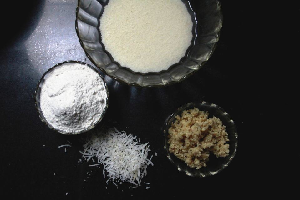 ingredients for patishapta, #fromthecornertable from the corner table, fromthecornertable, food blog, travel tuck-in talk, recipe, patishapta, pithe, bengali dessert, bengali food, bengali sweets, crêpe, Photo: Vaibhav Tanna