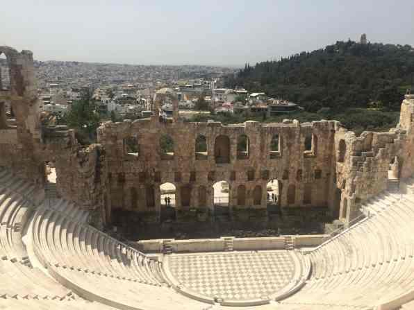 Athens Acropolis Odeon of Herodes Atticus (4)