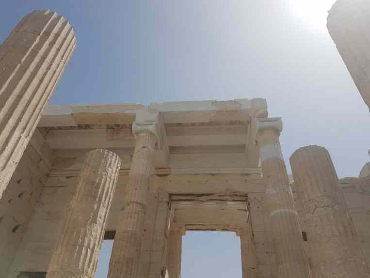 Propylaea, from the corner table, #fromthecornertable