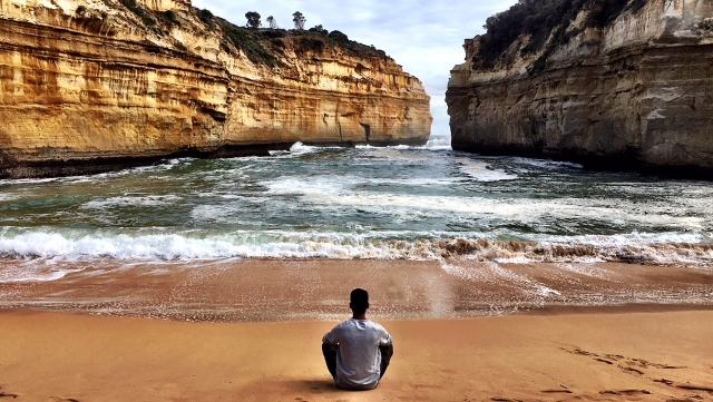 Loch Ard Gorge, Great Ocean Road, Australia, from the corner table , #fromthecornertable