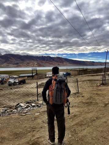 Tso Moriri - Ladakh, from the corner table , #fromthecornertable
