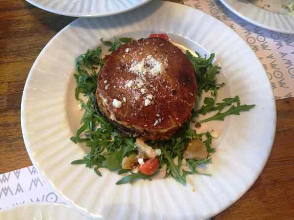 Moussaka, from the corner table, #fromthecornertable