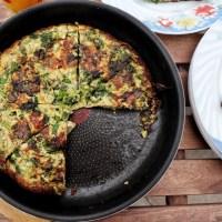Azeri KyuKyu | Herb-ed Omelette