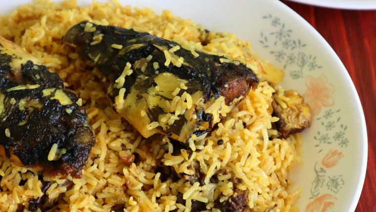 Muri Ghonto-Fish Head & Rice Mishmash | copyright image | From The Corner Table