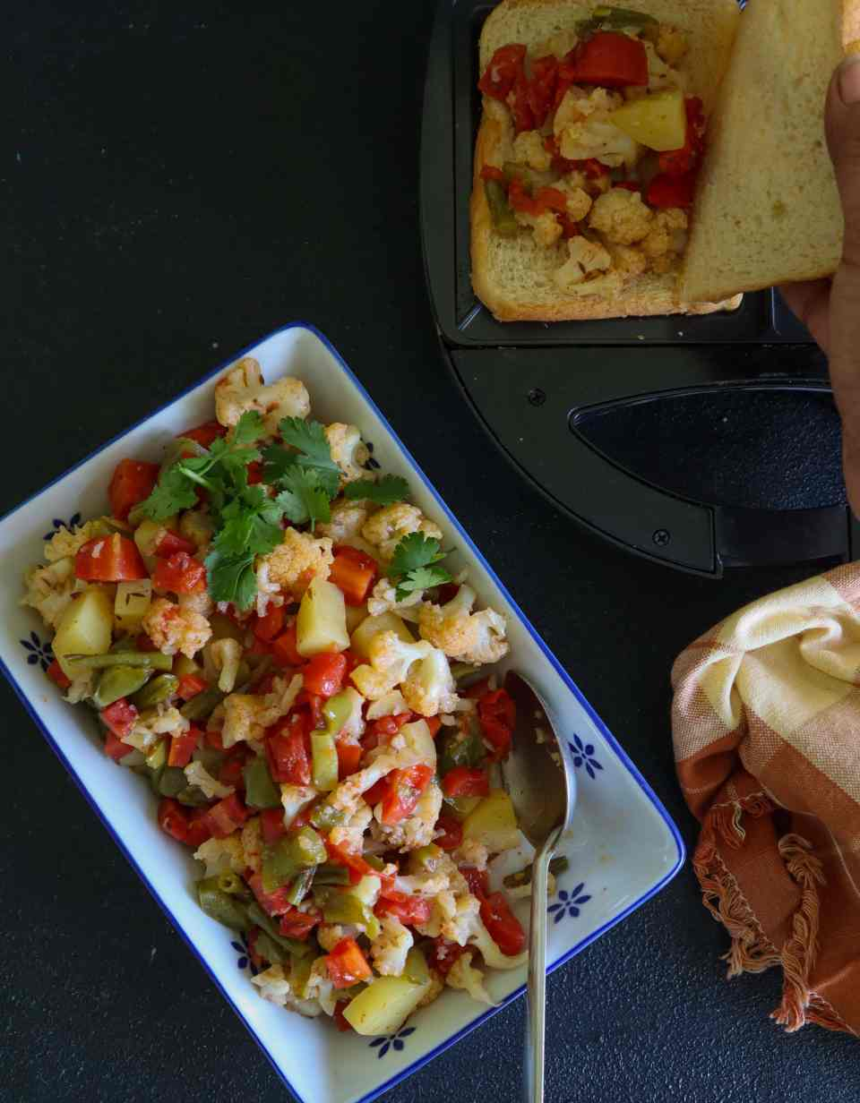 slow-cooked mixed vegetables fromthecornertable