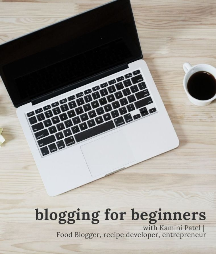 blogging for beginners | representational image on From The Corner Table