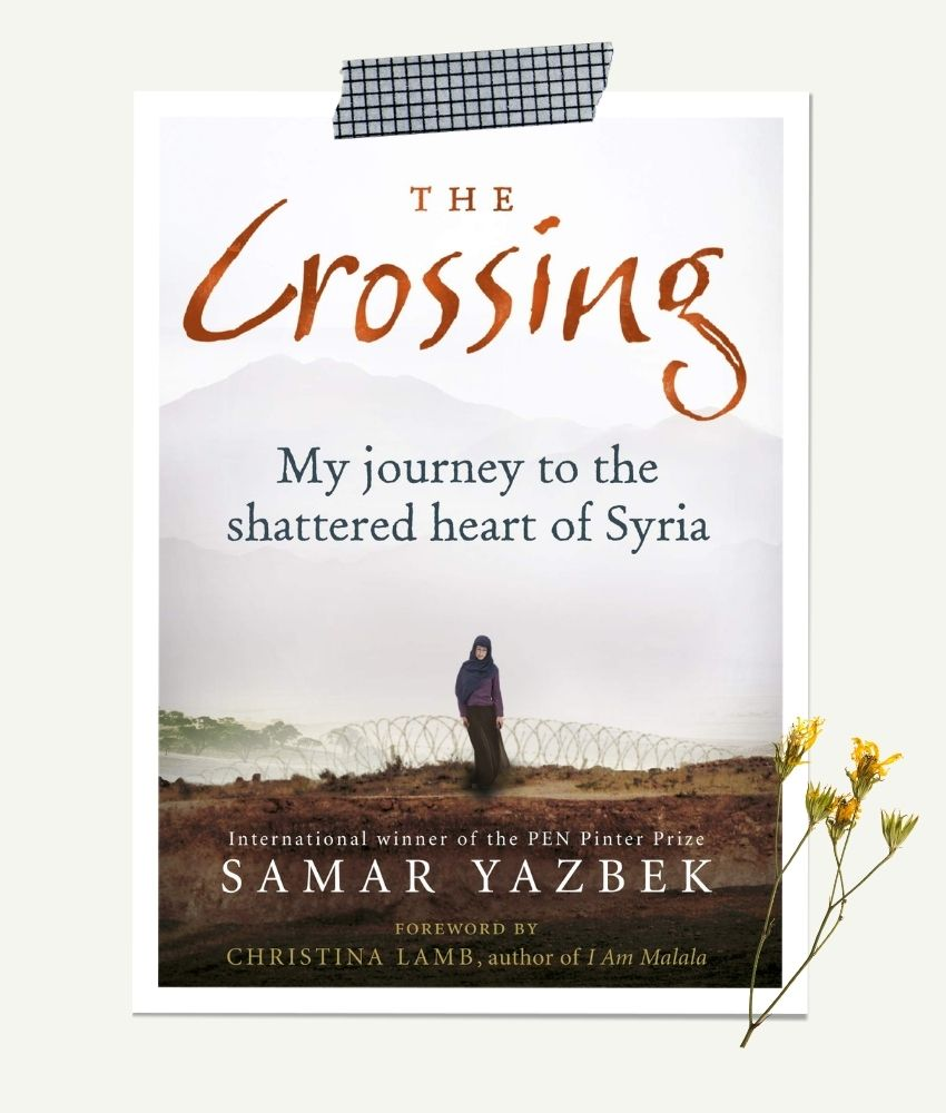 The Crossing by Samar Yazbek | representational image on From The Corner Table