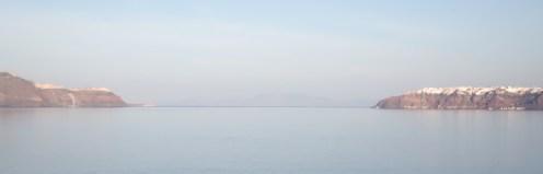 Dawn over Santorini