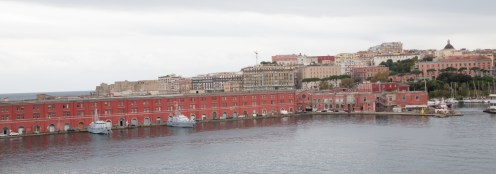 Old warehouses and docks in the Port of Messina