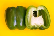 """Green pepper, one of the """"Holy Trinity"""" of Creole and Cajun cooking"""