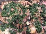 Plum-glazed pork roast