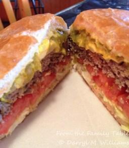 The world-famous Buckhorn Burger